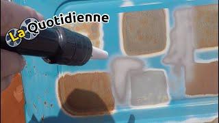 La quotidienne : Démonstration de la Sableuse aérogommeuse semi automatique B-B_6 PRO