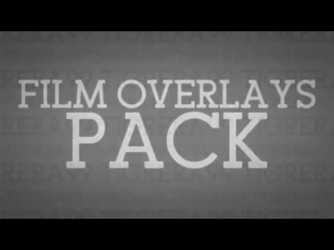 FILM OVERLAYS PACK!!!!    Thanks for 880+ subs!!! ❤