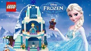 Lego Disney Frozen Elsa's Sparkling Ice Castle Set 41062 with Ana & Olaf