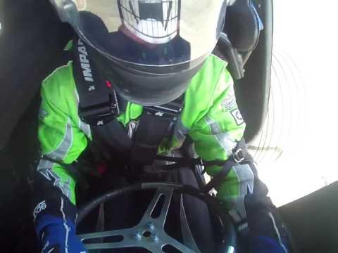 Tony Rost Sprint Car Hot Laps Cockpit View @ Eagle Raceway