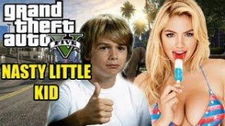 LITTLE KID TROLLS GAMER GIRL (GTA 5 VOICE TROLL)