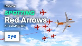 Roblox | Red Arrows Performance @ Scampton