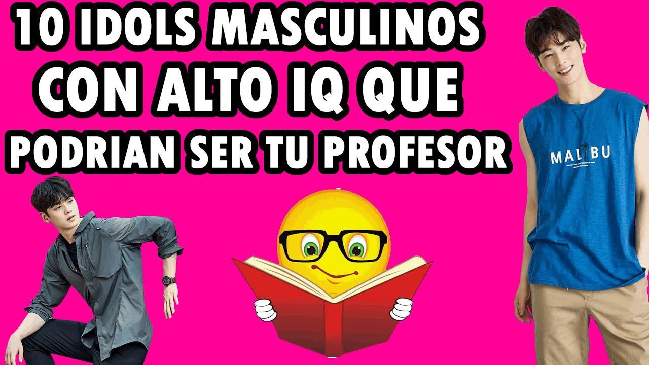 10 IDOLS DEL KPOP CON UN IQ TAN ALTO QUE PODRIAN SER TU PROFESOR | IQ DE LOS IDOLS KPOP