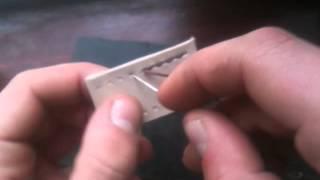 Работа с кожей. Ровный шов при сшивании кожи(Как я сшиваю свои изделия, что бы шов был ровный с обеих сторон., 2014-11-01T18:16:24.000Z)