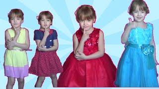 Как Катя собиралась на День Рождения Лёни?Наряды для девочек  Торт ПОДАРОК игрушки для детей
