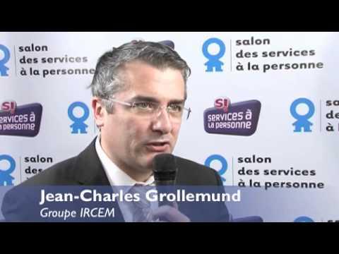 Jean charles grollemund groupe ircem au salon des for Salon service a la personne