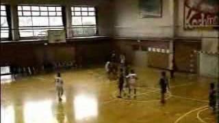 中学ハンドボール2007尾北カップ男子準決勝後半1