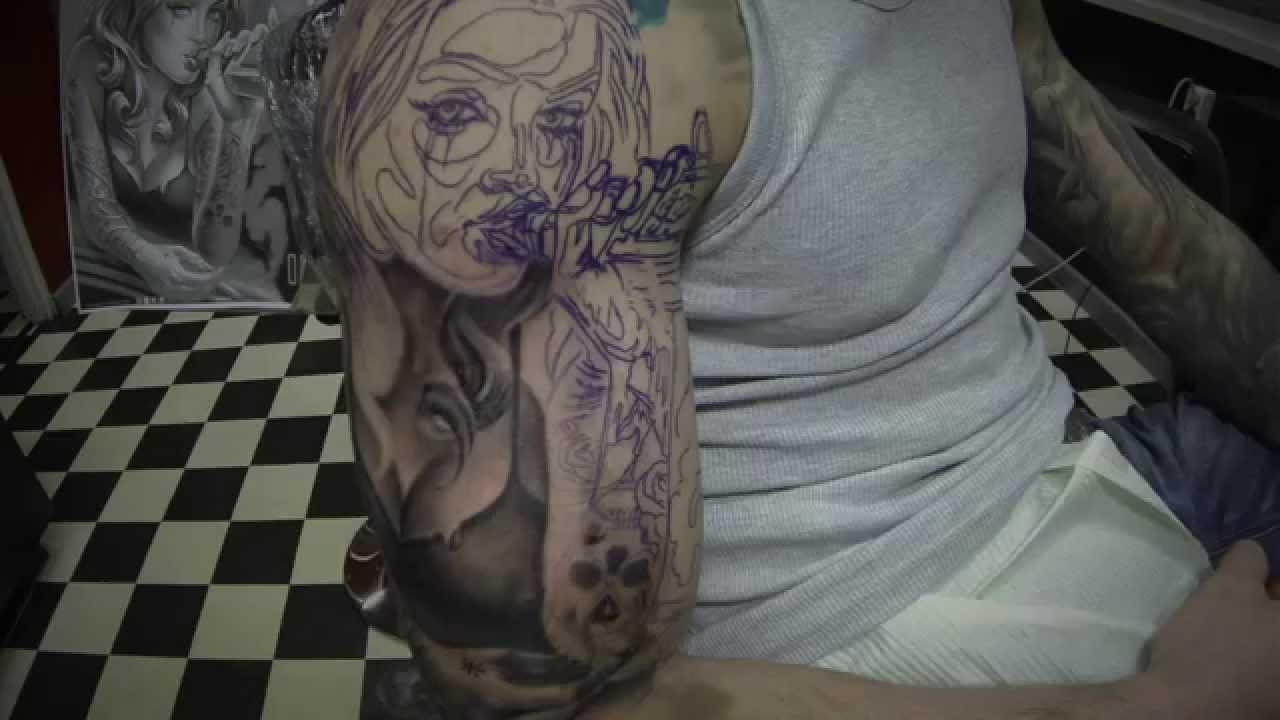 Mechanical Tattoos Angel Youtube