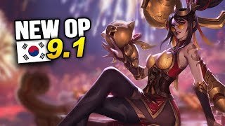 9 New OP Builds and Champs in Korea Patch 9.1 SEASON 9 (League of Legends)