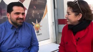 Şirin Payzın Diyarbakır'da AK Parti'nin Yenişehir adayı ile konuştu