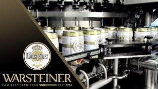 Die Abfüllung in der Brauerei   WARSTEINER