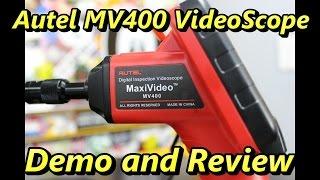 Autel MV400 Video Scope Review and Demo