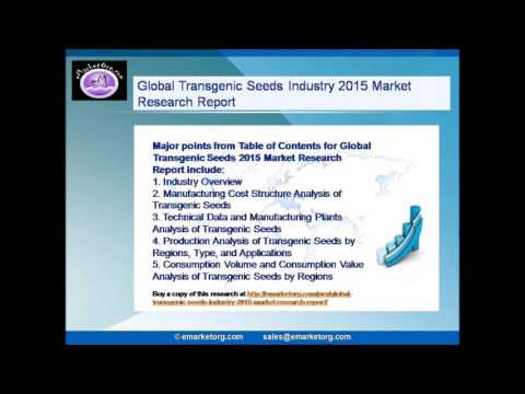 Global Transgenic Seeds Industry 2015 Market Research Report