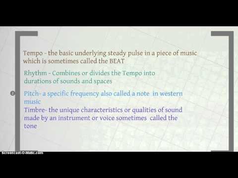 Basic Musical Terminology