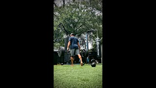 Split stance strength and power complex DSL Bar and KettleBell