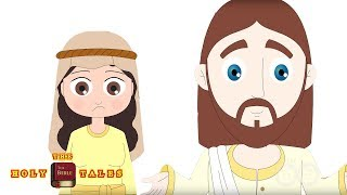 Jesus and The Samaritan Woman - Bible Stories For Children
