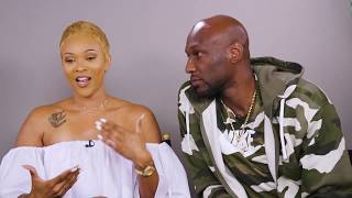 Lamar Odom And Sabrina Parr Talk Their Relationship, Reality Show And Firing Manager