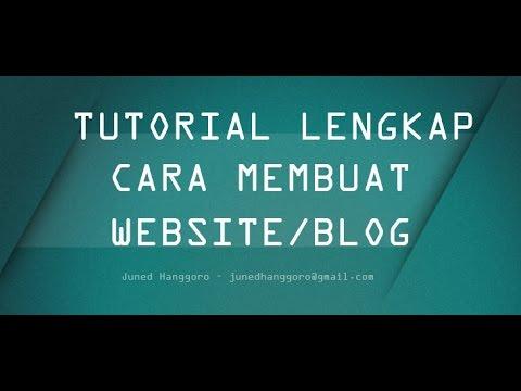 Tutorial Cara Membuat Website dengan Mudah