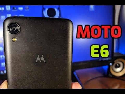 Moto E6 Unboxing & First Impressions (Verizon Review) Starry Black