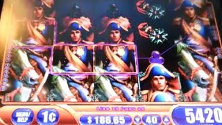 Napoleon & Josephine Super Big Win Line Hit + Bonus Hits WMS Slot Machine