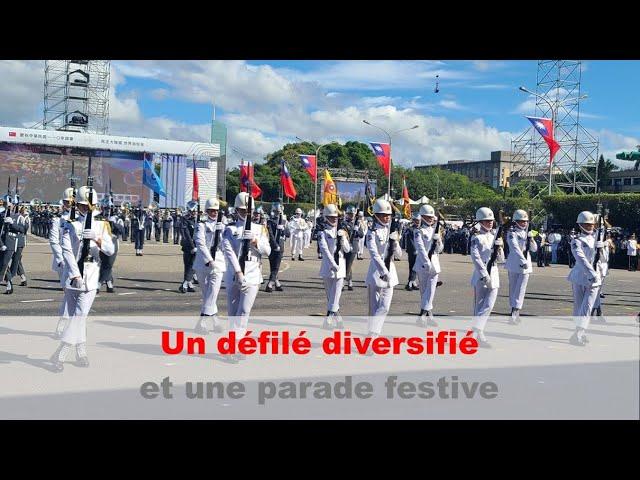 Dix octobre: un défilé diversifié et festif | Taiwan actus | RTI