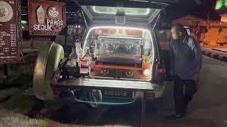 MOBILE CAFE SET UP#ariffcoffes…