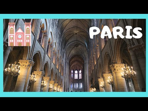 paris inside the magnificent notre dame cathedral france youtube. Black Bedroom Furniture Sets. Home Design Ideas