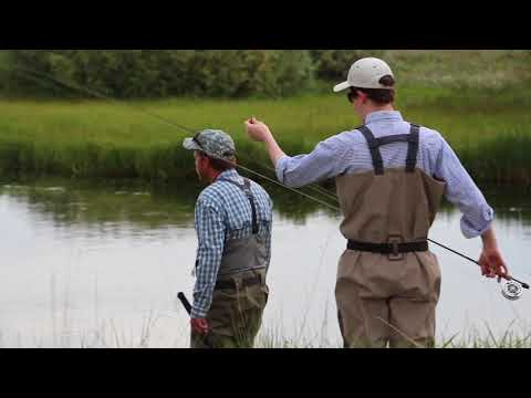 Fly fishing during the drake hatch on Silver Creek