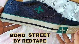 Bond Street Blue Sneakers By Red Tape Unboxing | Bond Street Shoe