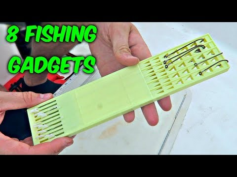 Thumbnail: 8 Fishing Gadgets put to the Test