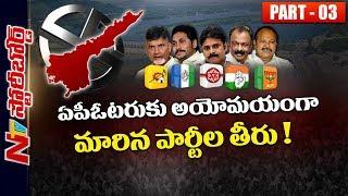 Current Political Scenario in Andhra Pradesh Politics   TDP, YCP, BJP, Janasena, Congress   SB 03