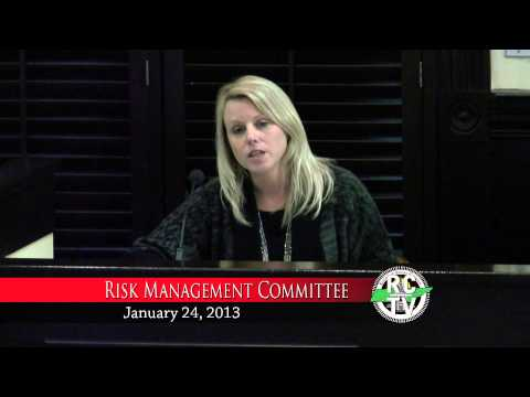Risk Management Committee - January 24, 2013