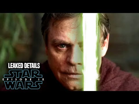 Star Wars! Luke Uses A Lightsaber In Episode 9! Leaked Details & Hints!