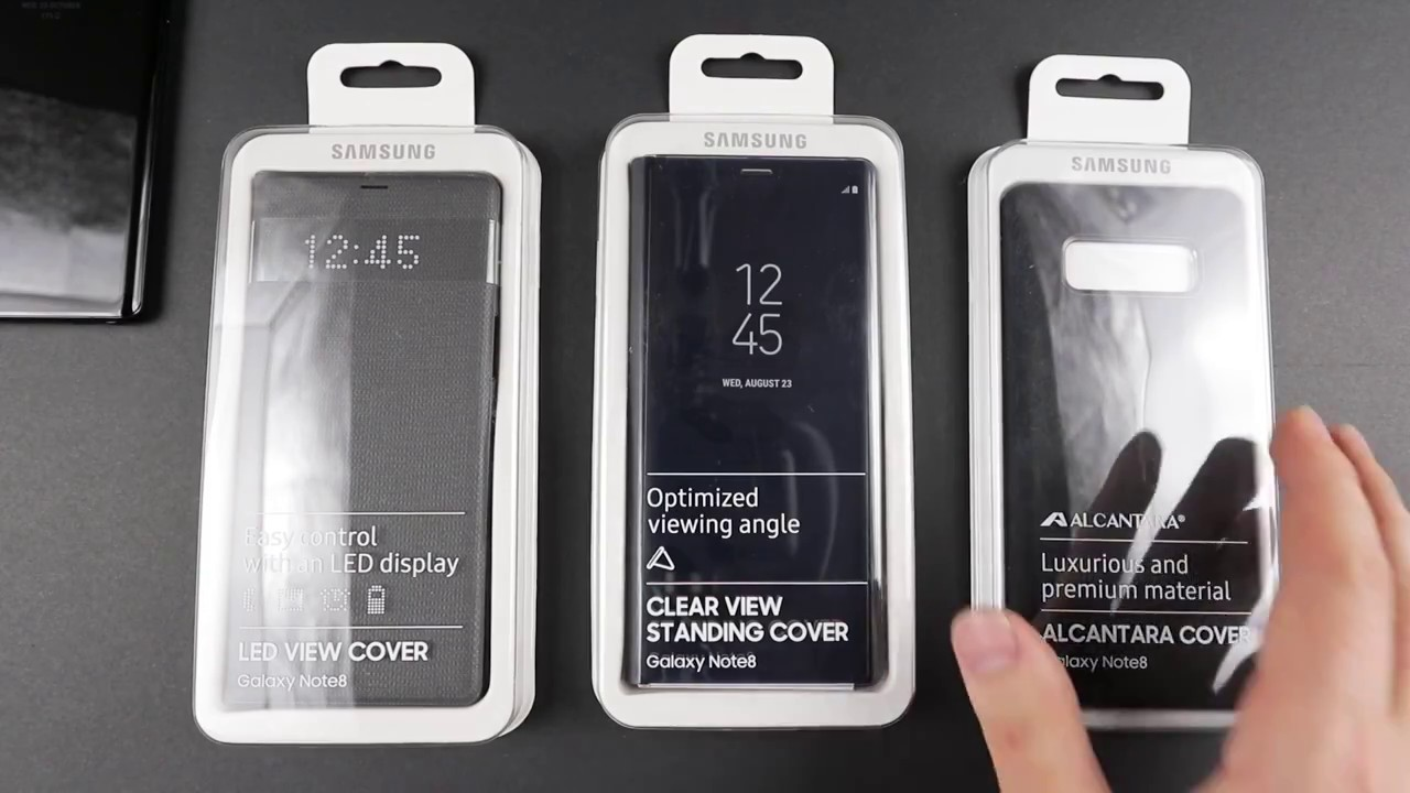 the best attitude c1299 18e16 Samsung Note 8 Cases Unboxing + Review | Which one is the best?