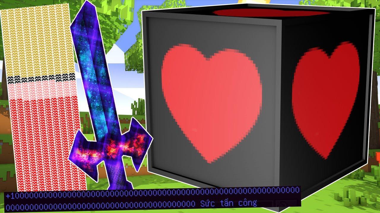 Đồ Ultimate Vip ** T Gaming Thử Thách Chế Tạo Lucky Block Vip Mới ??