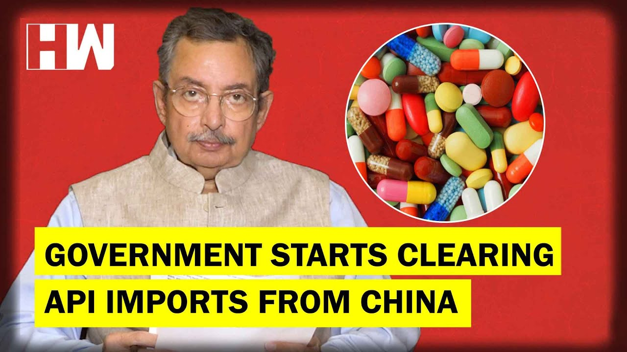 The Vinod Dua Show Ep 309: Government starts clearing API imports from China