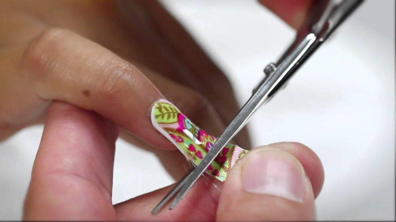nail art lesson 1 - unique silk
