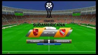 Flamengo x Independiente ↱[ Copa Sul-Americana Final |2ª Jogo| ]↰ PES 2017