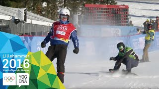 Snowboard Cross - Jake Vedder (USA) wins Men