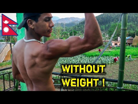 Ultimate Full-upper Body Workout without Weight ! Epic-Pump | Anish Fitness