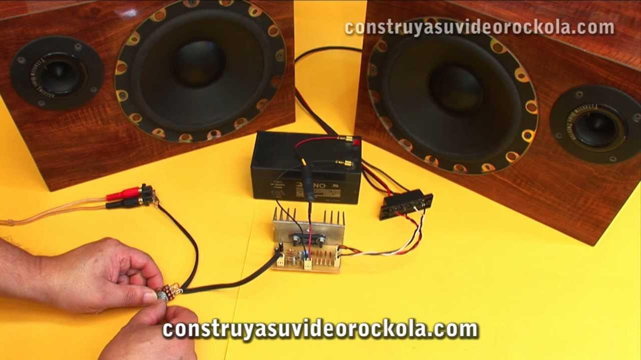 Amplificador Estreo Con Ta8210 Youtube Audio Amplifier Circuit Using Ta7283ap
