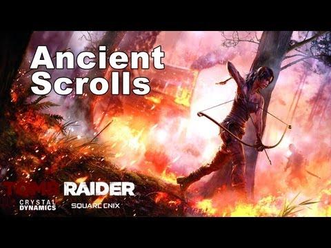 Tomb Raider - Documents: Ancient Scrolls