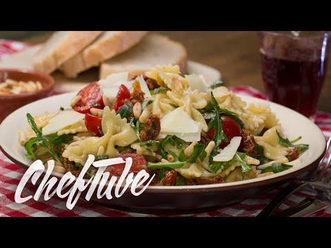 comment-faire-une-salade-de-pâtes-à-l'italienne---recette-dans-la-description