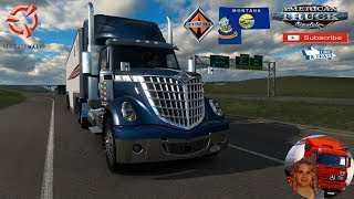 American Truck Simulator (1.36)   Project North v0.4.2 Idaho & Wyoming 1.36 by DuckieBae and Montana Expansion v0.1.5 International Lone Star by SCS Software + DLC's & Mods