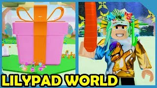 New Update! Lilypad Palace & Giant Gift - Roblox Unboxing Simulator