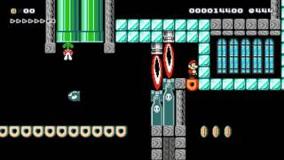 氷魔殿 Icy pandemonium by しんいち ~ NEW WORLD RECORD SPEEDRUN 一SUPER MARIO MAKER一 No Commentary