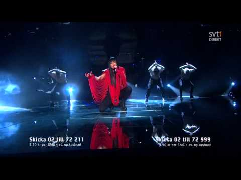 2. Loreen - My Heart Is Refusing Me (Melodifestivalen 2011 Deltävling 2) 720p HD