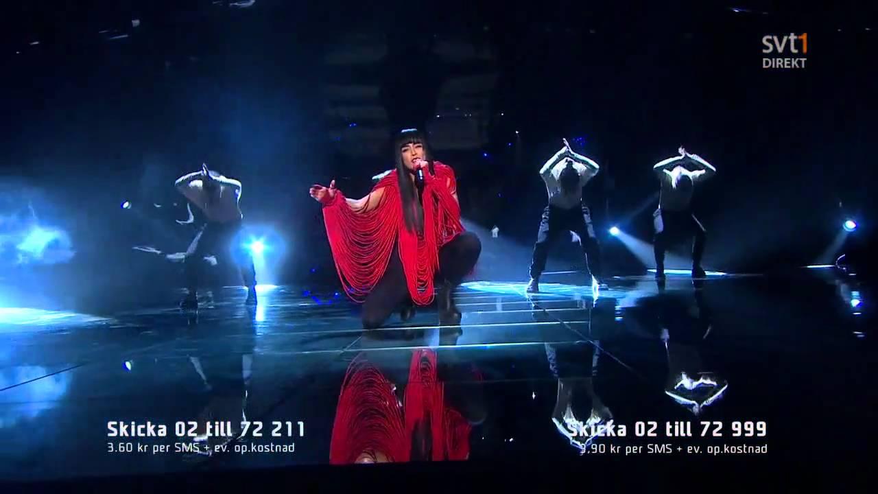 Melodifestivalen Deltävling 2: My Heart Is Refusing Me (Melodifestivalen 2011