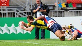 THE FINAL Australia vs Great Britain Men - 7th World University Rugby 7 Championship 2016 – Swansea