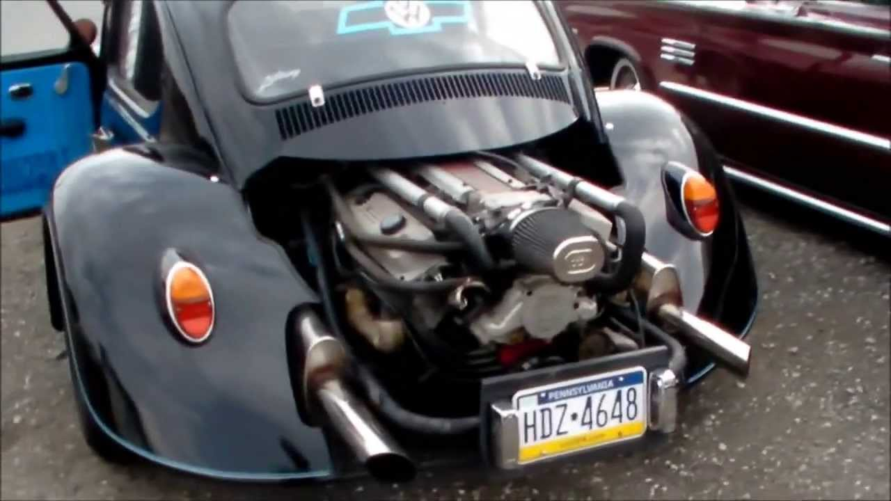 Compressed Air Car >> Volkswagen Beetle LT1 V8 swap street car - YouTube